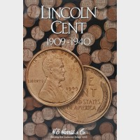 Lincoln Cent 1909-1940 Coin Album