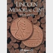 Lincoln Memorial Cent 1959-1998 Coin Album