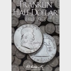 Franklin Half-Dollar 1948-1963 Coin Album