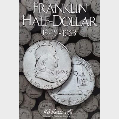 Franklin Half-Dollar 1948-1963 Coin Album