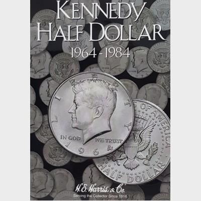Kennedy Half-Dollar 1964-1984 Coin Album