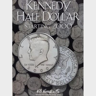 Kennedy Half-Dollar Starting 2000 Coin Album