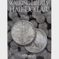 Walking Liberty Half-Dollar 1916-1936 Coin Album