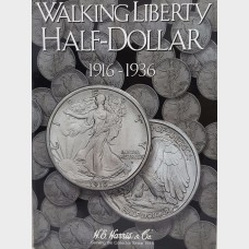 Walking Liberty Half-Dollar 1916-1936 Coin Album