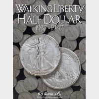 Walking Liberty Half-Dollar 1937-1947 Coin Album
