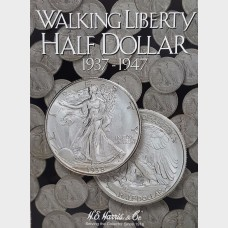 Walking Liberty Half-Dollar 1937-1947 Coin Album