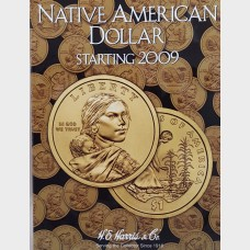 Native American Dollar Starting 2009 Coin Album