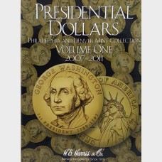 Presidential Dollars Vol I 2007-2011 P&D Coin Album