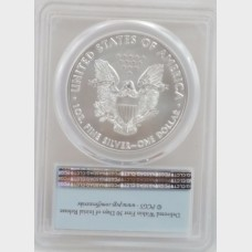 2016 $1 Silver American Eagle PCGS MS70 First Strike