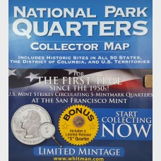 National Park Quarters Collector Map Album