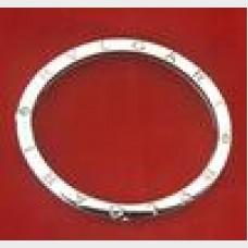 Bulgari 18kt & Stainless Steel Bangle