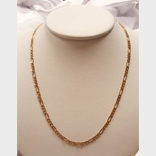 "Men's 18"" 14K Link Gold Chain"