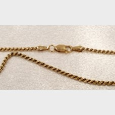 "Men's 20"" 14K Rope Gold Chain"