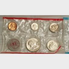 1962 Uncirculated U.S. Mint Set w/Envelope