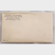 1963 Uncirculated U.S. Mint Set w/Original Envelope