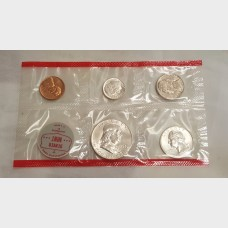 1963 Uncirculated U.S. Mint Set w/Original Envelope