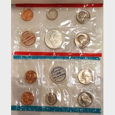 1968 Uncirculated U.S. Mint Set w/Envelope