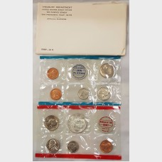 1969 Uncirculated U.S. Mint Set w/Envelope