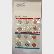 1970 US Mint Set Small Date