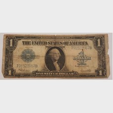 $1 Bill Series 1923 Large Note Blue Seal FR237 AG