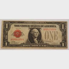 $1 Bill Series 1928 Legal Tender Note FR1500 Fine