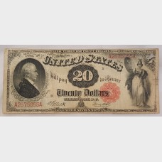 $20 Large Note 1880 FR147 VG8