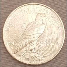 1922 Peace Dollar AU RAW