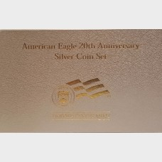 2006-W 3-Coin Proof Silver American Eagle Set 20th Anniversary