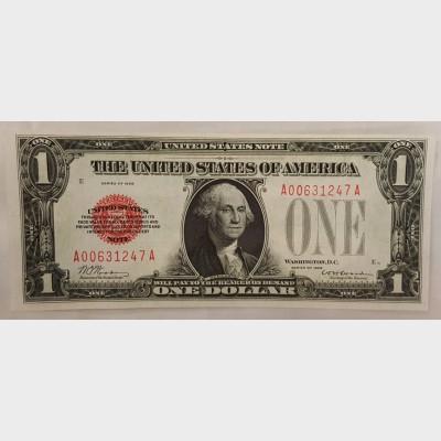 $1 Legal Tender Note Series 1928 FR1500 CU