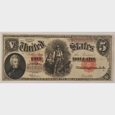 $5 Large Note Series 1907 FR91 VF