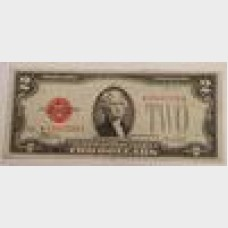 $2 Series 1928 F Legal Tender Star Note FR1507★ Fine
