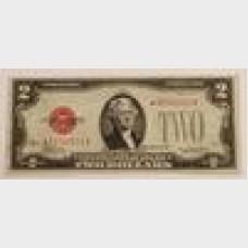$2 Series 1928D Legal Tender Star Note FR1505★ VF