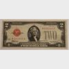 $2 Series 1928C Legal Tender Star Note FR 1504★ VF