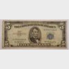 $5 Legal Tender Note Series 1953 FR1655 G