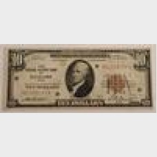 $10 Federal Reserve Note Series 1929 FR1860-D EF