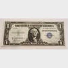 $1 Silver Certificate Blue Seal Series 1935 FR1607 CU