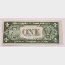 $1 Silver Certificate Blue Seal Series 1935C FR1612 CU