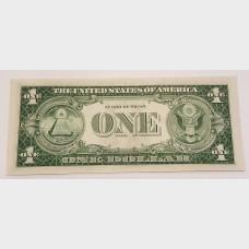 $1 Silver Certificate Blue Seal Series 1935G w/Motto FR1617 CU