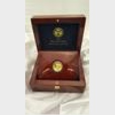 2009 Ultra High Relief Double Eagle 1 ozt Gold Coin Box + COA