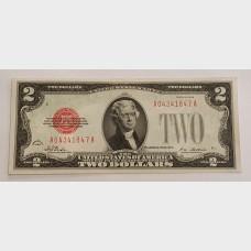 $2 Bill Legal Tender Note Series 1928 FR1501 CU63