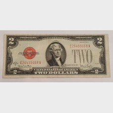 $2 Bill Legal Tender Note Series 1928G FR1508 F