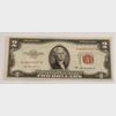 $2 Bill Legal Tender Note Series 1953A FR1510 CU