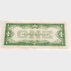 $1 Bill Series 1929D Silver Certificate Blue Seal FR1604 EF+