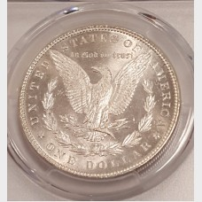 1886 Morgan Silver Dollar PCGS MS65