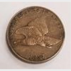 1857 Flying Eagle Small Cent 1¢ Penny
