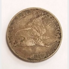 1858 Flying Eagle SL Small Cent Penny VF RAW