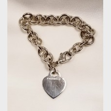 Tiffany & Co. Heart Please Return To Charm Bracelet