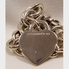 Tiffany & Co. Heart Please Return To Charm Bracelet