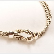 Tiffany & Co. Sterling Silver Love Knot Bracelet