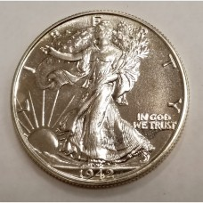 1942 Walking Liberty Silver Half Dollar GEM Proof
